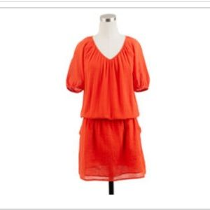 J. Crew whisper gauze dress siesta dress